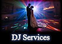 wedding dj services, disc jockey services, wedding music