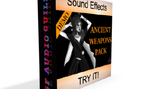 Demo Ancient Weapons Pack