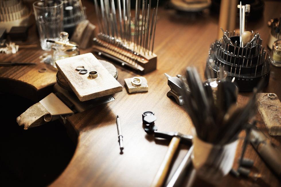 Goldsmith's workbench