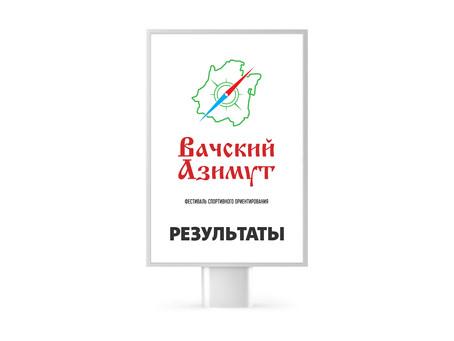 Результаты соревнований   Вачский Азимут 2019