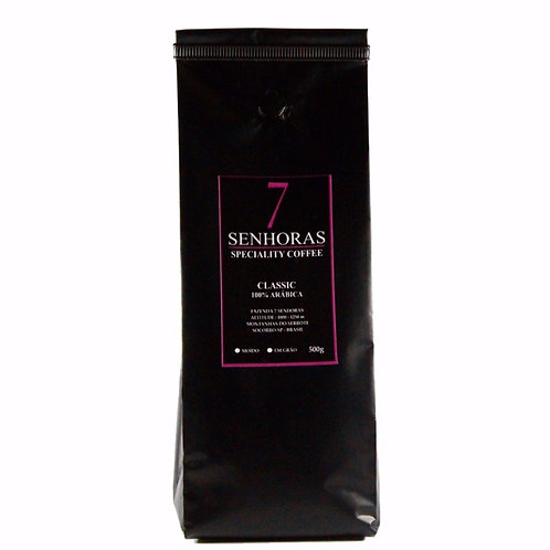 7 Senhoras Speciality Coffee - Classic (250, 500g e 1kg)