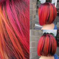 Fire Colour Melt