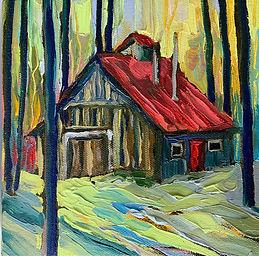 Cabane à Sucre by B Jane Magee Kroecker