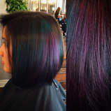 Purple & Teal Dark Rainbow