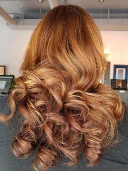 Balayage & Soft Curls