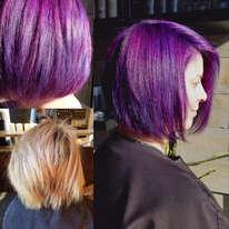 Purple with Blue Elumen Highlights