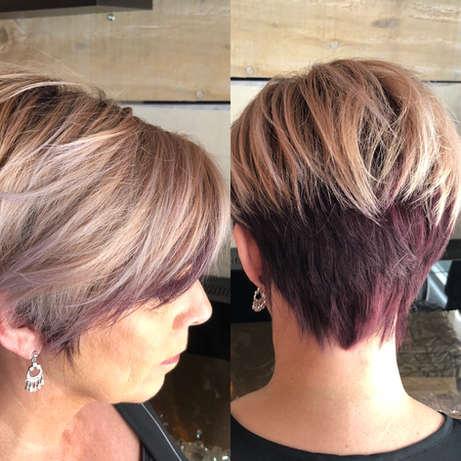 Purple Under Cut