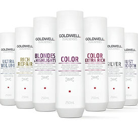Goldwell shampoo and conditioners
