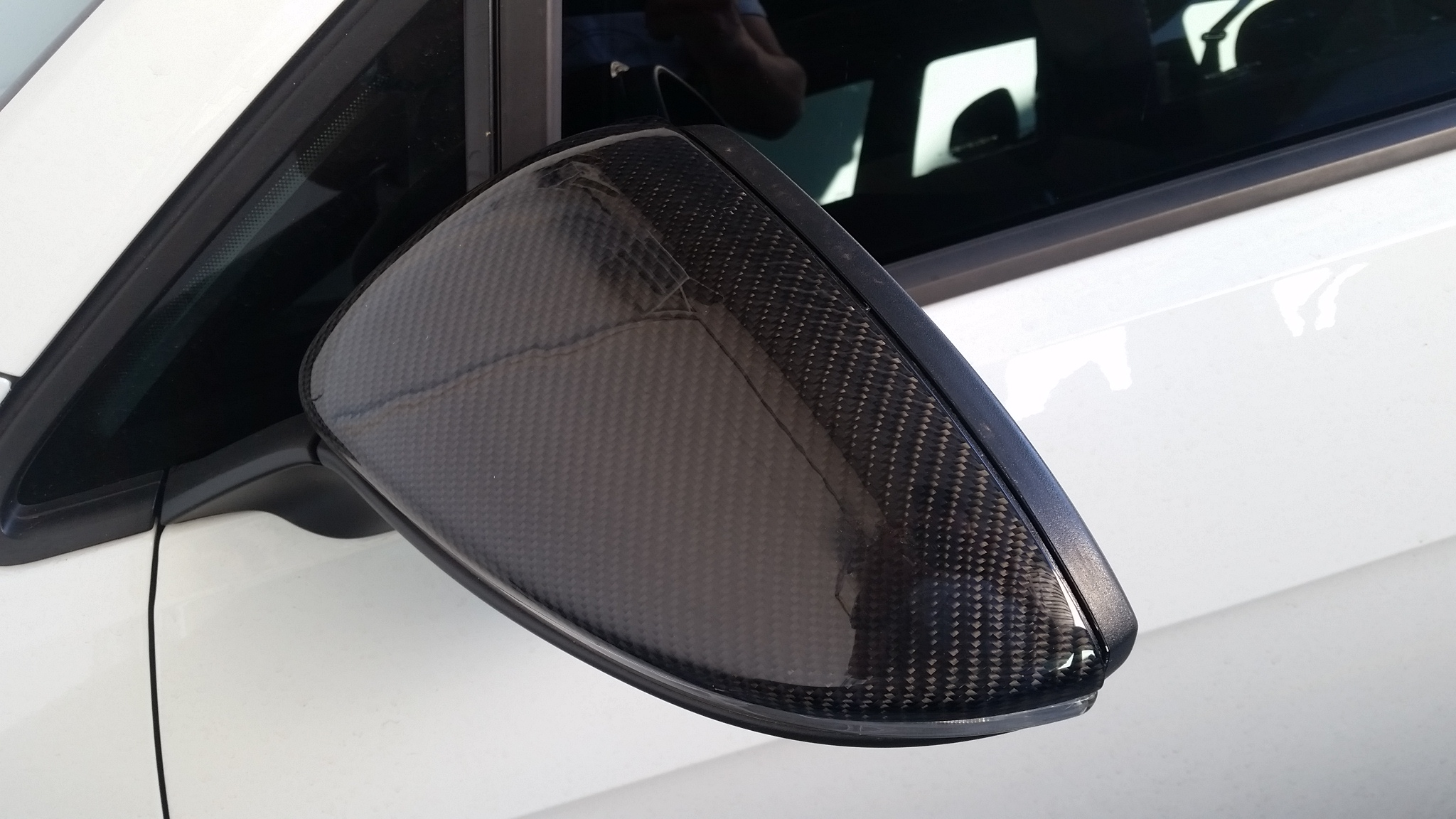 Mirror Cover Carbon Golf Tsi