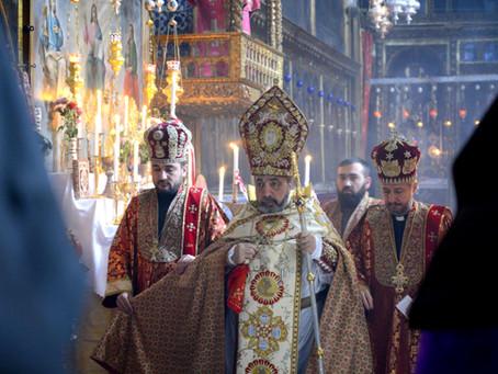 Որոտման Որդիների՝ Հակոբոս Գլխադիր Առաքյալի և Հովհաննես Ավետարանիչի տոնը Երուսաղեմում