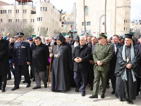 Սուրբծննդյան տոնը Երուսաղեմում