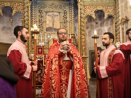 Պատարագ մատուցվեց Ասորիների Ս. Մարկոս Եկեղեցում