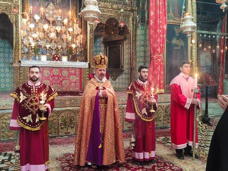 Վարդանանց 1036 նահատակների տոնը Երուսաղեմում