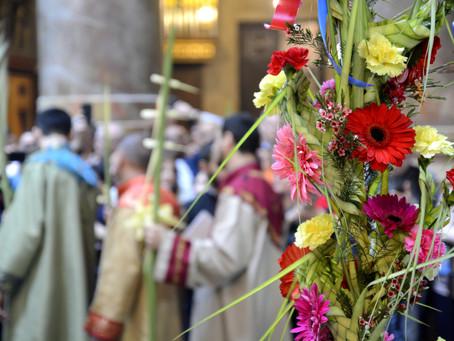 Ծաղկազարդի տոնը Երուսաղեմում