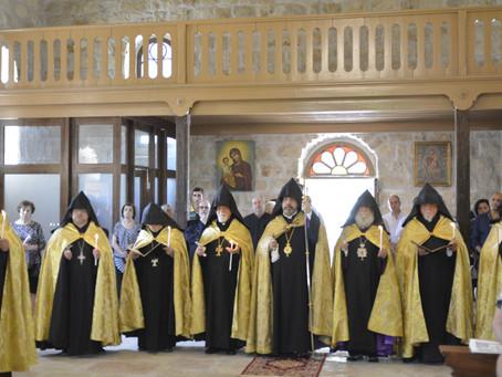 Վերաօծվեց Նոր Երուսաղեմի Ս. Գրիգոր Լուսավորիչ եկեղեցին