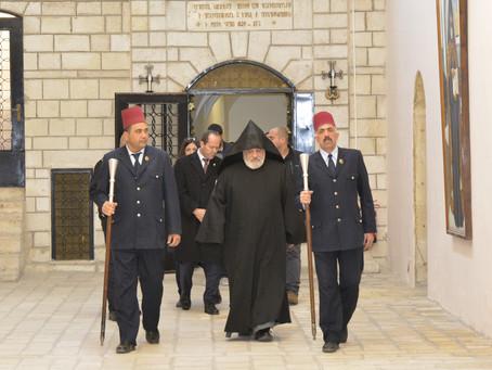 Երուսաղեմի քաղաքապետ՝ Նիր Բարքատի այցը Հայոց Պատրիարքարան