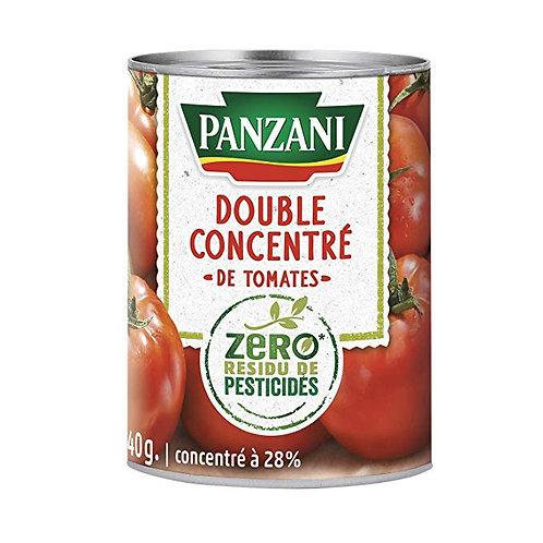 Double concentré de tomate 0 pesticides 140g - PANZANI