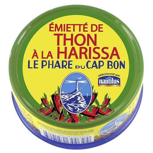 Émietté de thon à l'harissa 162g - LE PHARE DU CAP BON