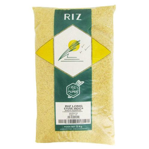 Riz Long Etuve 5kg - INDICA