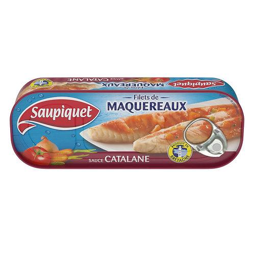 Filets de Maquereaux sauce Catalane 169G - Saupiquet