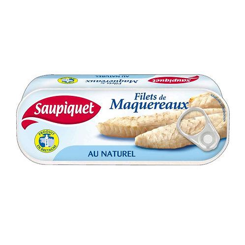 Filets de maquereaux naturel 169g - SAUPIQUET
