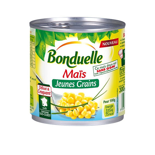 Maïs jeunes grains 300g - BONDUELLE