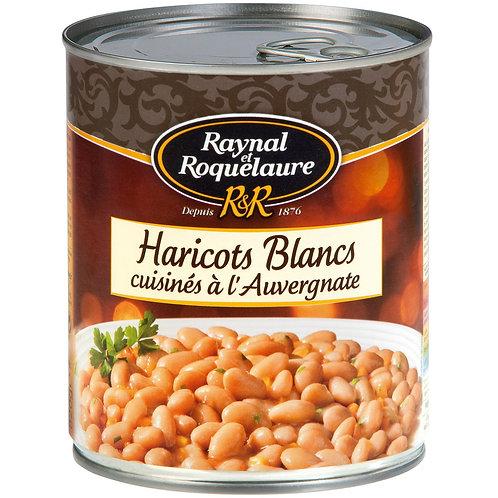 Plat cuisiné haricots blancs auvergnate RAYNAL ET ROQUELAURE