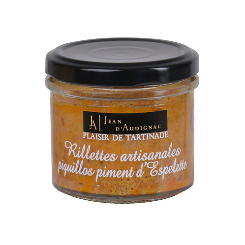 RILLETTES APERITIVES PIQUILLOS PIMENT D'ESPELETTE