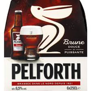 PACK PELFORTH BRUNE 6X25CL