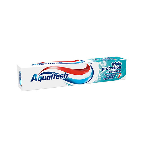 Dentifrice triple protection + blancheur 75ml - AQUAFRESH