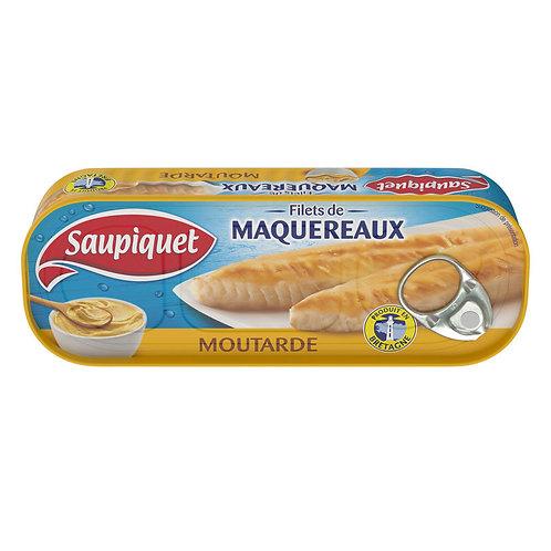 Filets de maquereaux moutarde 169g - SAUPIQUET
