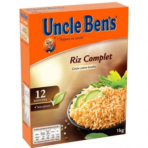 Riz brun et complet 500g - UNCLE BENS