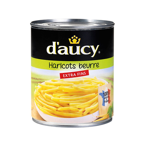 Haricot Beurre Extra fins 440g - DAUCY