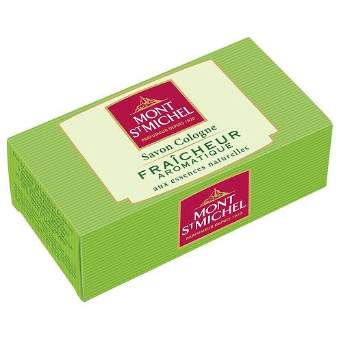 Savon Cologne fraîcheur aromatique 125g - MONT ST MICHEL