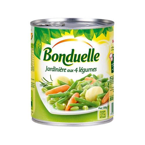 Jardiniere aux 4 Legumes 4/4 - Bonduelle