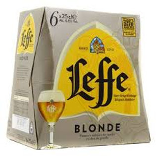 PACK LEFFE 6X25CL