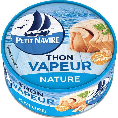 Thon vapeur nature 130g - PETIT NAVIRE