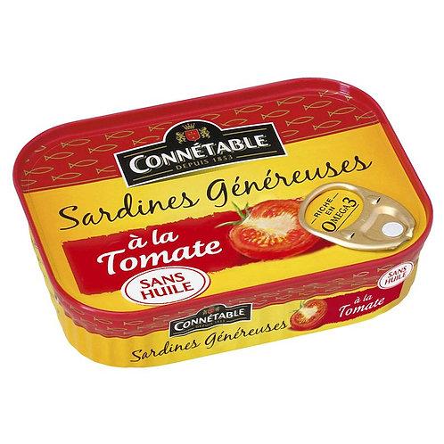 Connétable Sardine à la Tomate 140g