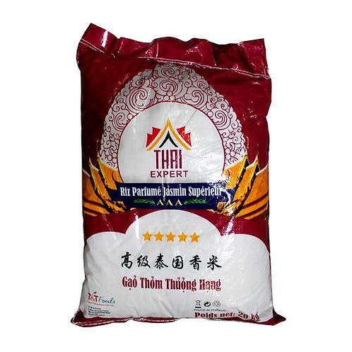 Riz parfumée jasmin 20kg - THAI EXPERT