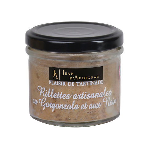 RILLETTES APERITIVES GORGONZOLA NOIX