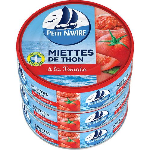 Miettes de Thon à la tomate x3 - Petit Navire