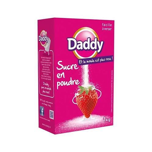 Sucre en poudre 1kg - DADDY