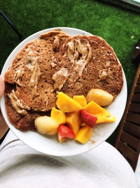 Judy's Vegan Salted Caramel Pancakes