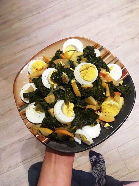 Judy's Warm Kale Salad