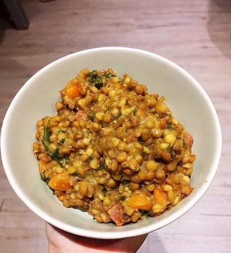 Judy's Lentil Veggie Stew