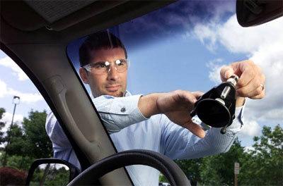 Repairing windshield