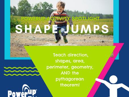 PowerUp Activity Spotlight: Shape Jumps