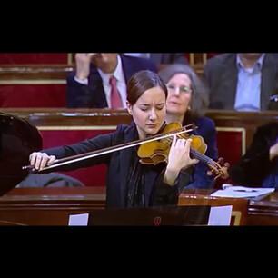 Dúo Metha en el Senado de España