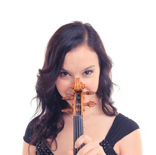 Violinist Rocío González Cabello