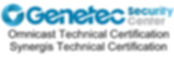 Genetec Security Center Logo technical certification